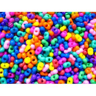 Farfale mix plných barev, 6,4 mm