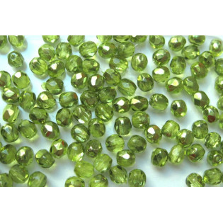 Čiré zelené ohňovky, pokov, 4 mm