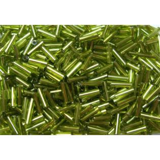 Zelený sekaný se stříbrným průtahem, 7 mm